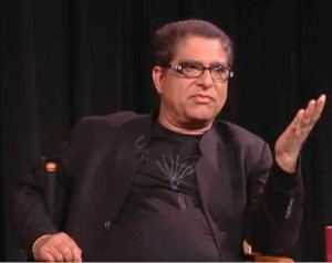 Deepak Chopra - A well known writer and speaker in the USA