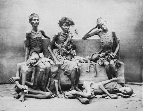 India poverty, famine