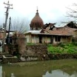 Hindu temple Complex in Kashmir Completely Desecrated