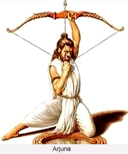 Ancient Indian Bow And Arrow