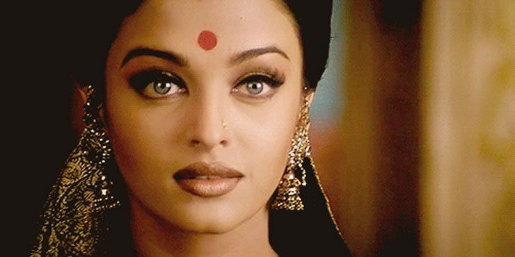 The importance of wearing the bindi - Aishwarya rai coup de foudre a bollywood ...