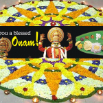 Happy Onam – Malayali Harvest Festival – September 2014