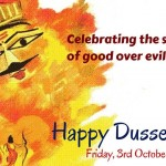 Shubh Vijaydashami (Happy Dussehra) – Festival of Good vs Evil – October 2014
