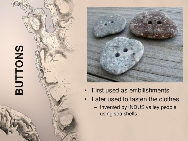 Buttons made of stone from Ancient India