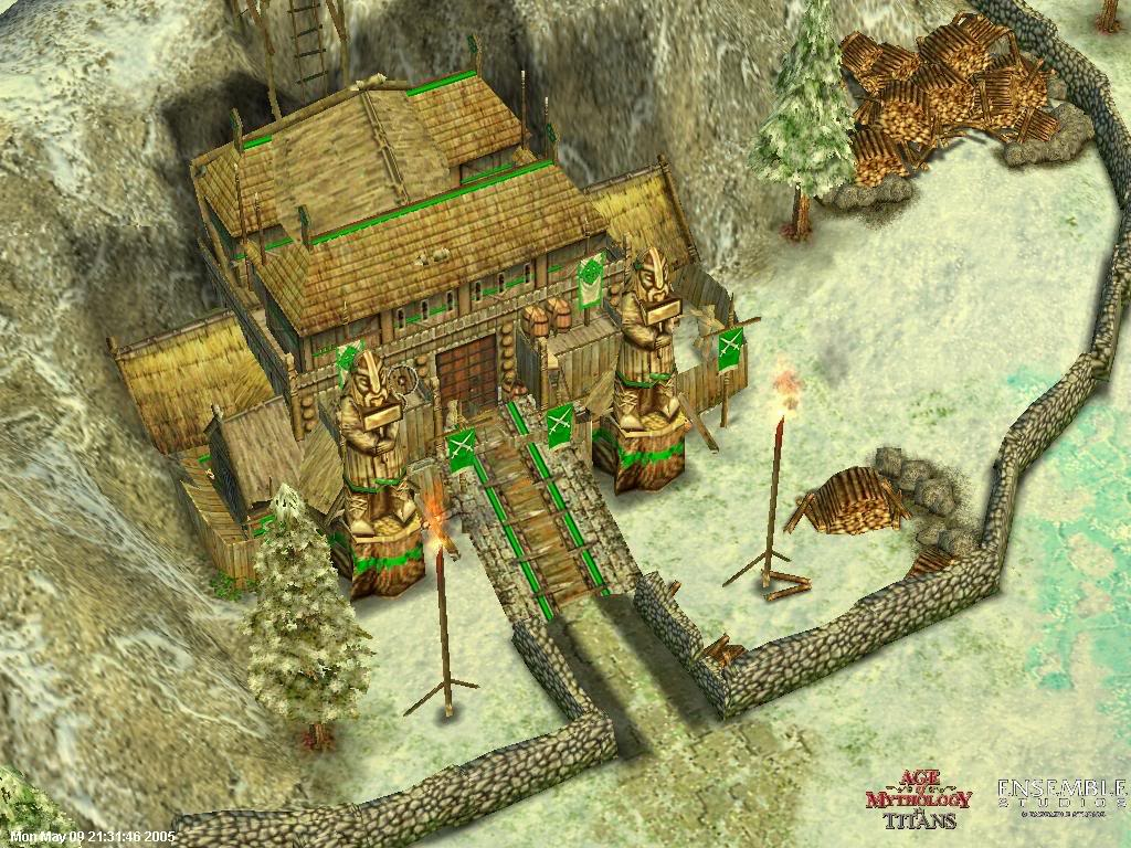 Depiction of Norse temple from Art of Methodology Video Game