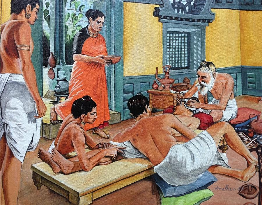 Surgery 1000s of years ago in Ancient India