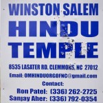 Another Anti-Hindu Hate Crime: North Carolina Hindu Temple Sign Shot by Multiple Shotgun Blasts