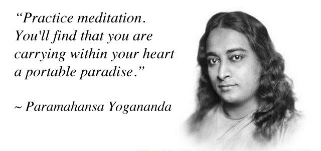Self Realization Fellowship (SRF) Paramahamsa Yogananda Quote
