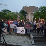 American Hindu, Buddhist, LGBT, Christian & Athiest Groups Hold Candlelight Vigil for Persecuted Bangladeshi Minorities