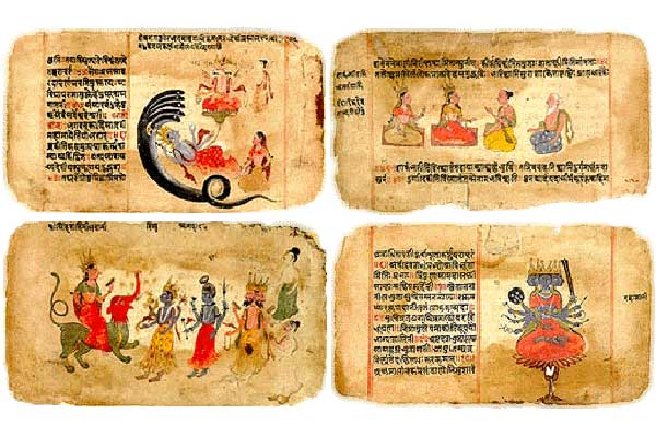 The Vedas are Vedic Hindu Scriptures and Among the Oldest Living Texts in the World