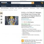 Jeff Bezos & Amazon Continue to Sell Inappropriate Items Mocking Hindu Deities While Banning Items Offensive to Other Faiths
