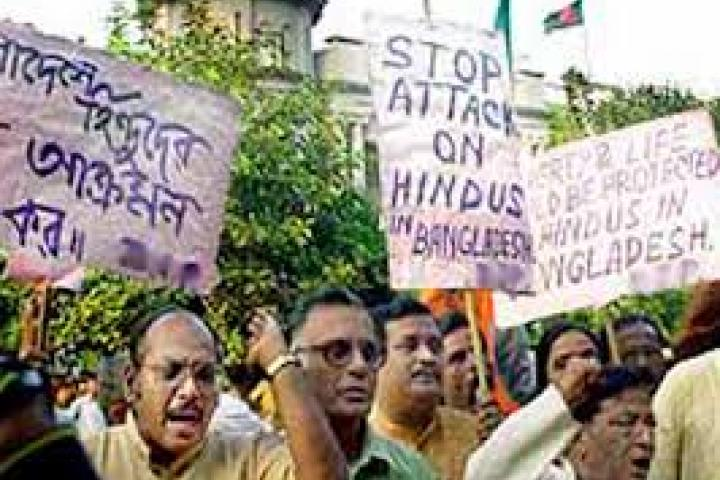 Hindu voices are constantly attacked by Extremist groups in Bangladesh while ignored by the Government
