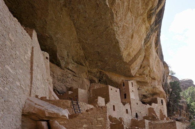 Mesa Verde National Park is in Colorado USA, contains Ancient Native Indigenous Culture