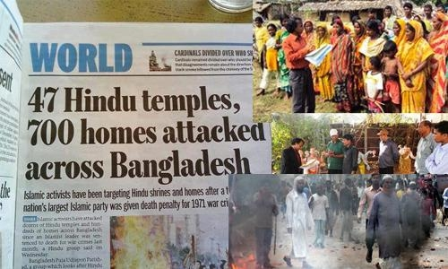 In 2013, over 50 Hindu temples and hundreds of homes were destroyed by an extremist Muslim mob