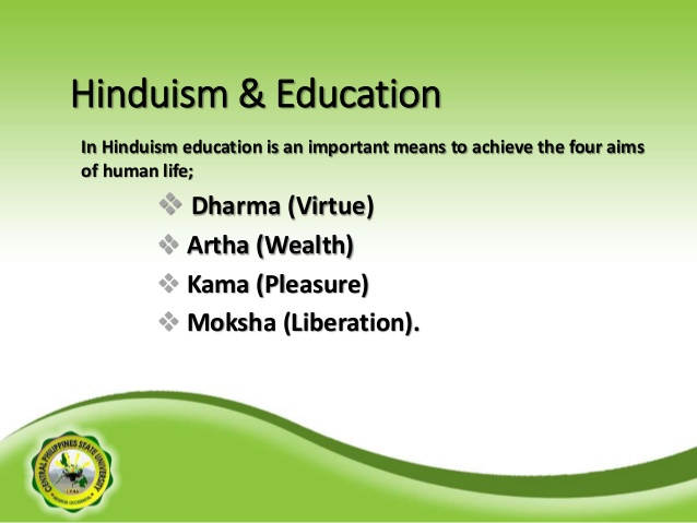 Attention to Higher Education is a major focus in Hinduism and therefore steeped in Indian culture