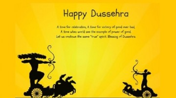 Hindus Celebrate Good vs. Evil  – Shubh Vijayadashami & Happy Dussehra 2017