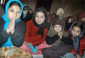 Sikhs are the largest religious minority in Kashmir